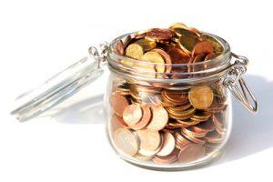 Fünf allgemeine Geld Spartipps
